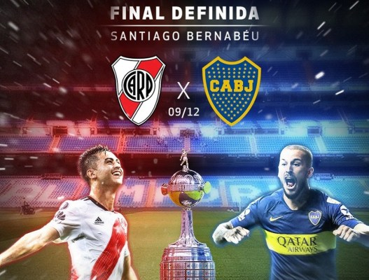 RIVER x BOCA NO CENÁRIO DE FINAL DE COPA DO MUNDO