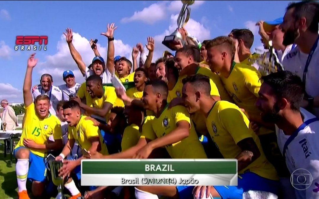BRASIL VOLTA A SER CAMPEÃO APÓS CINCO ANOS