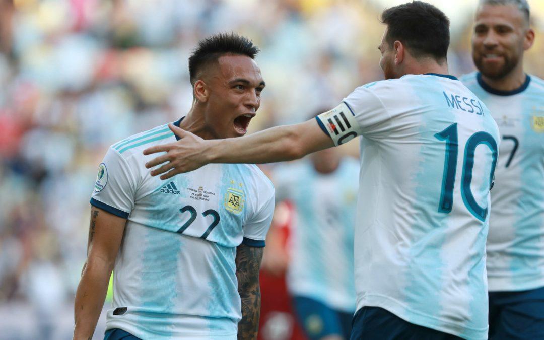 BRASIL x ARGENTINA EM SEMIFINAL INÉDITA