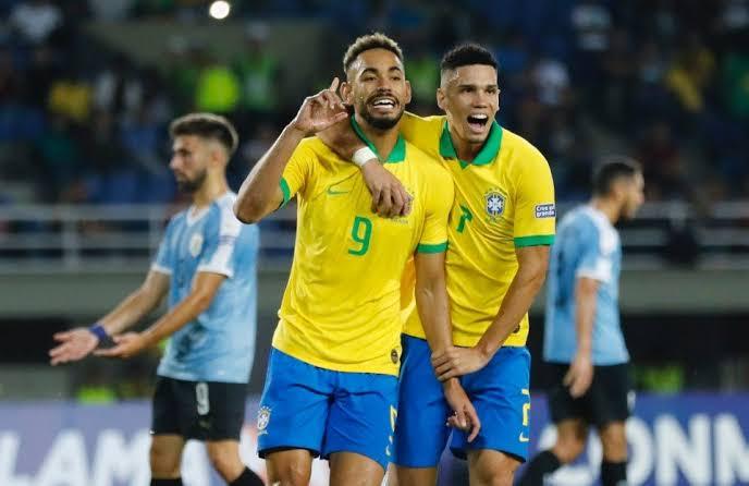 BRASIL VENCE URUGUAI E LIDERA PRÉ-OLÍMPICO