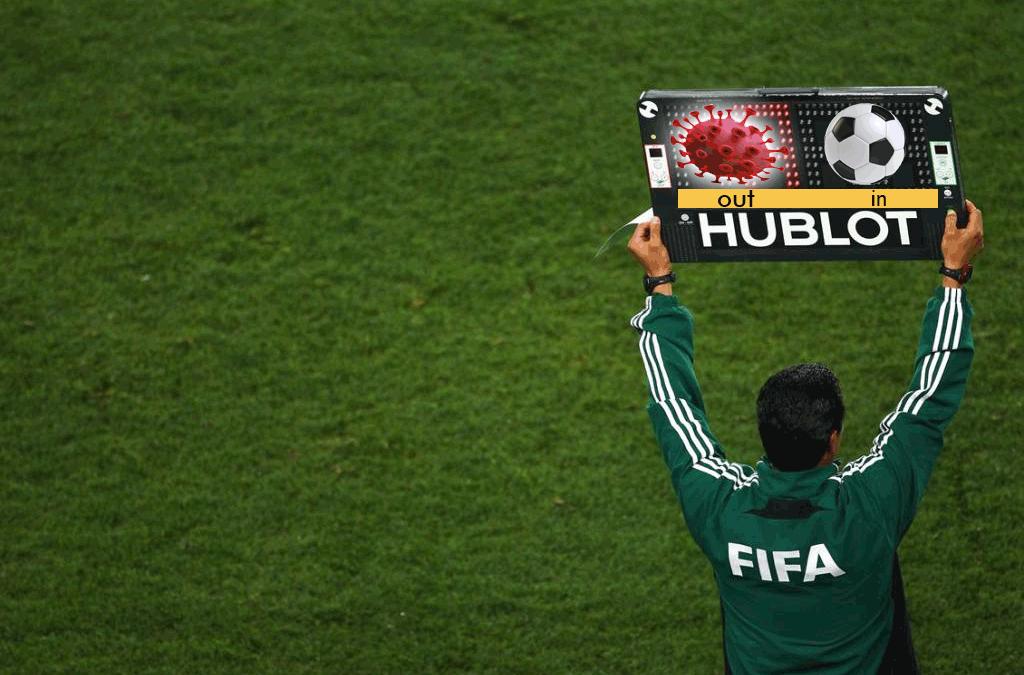 NOVIDADE DA FIFA NA VOLTA DO FUTEBOL