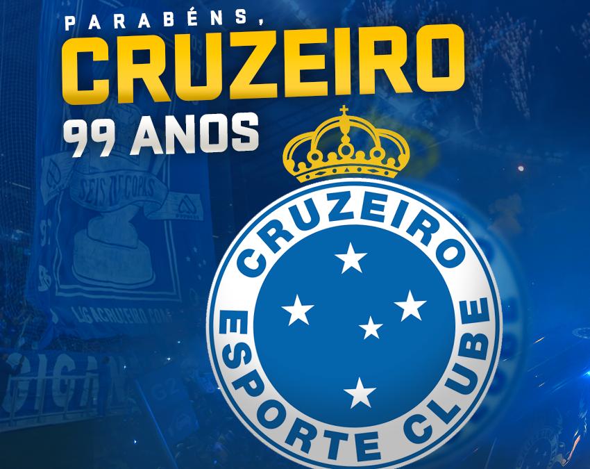 99 ANOS DO CRUZEIRO, RECORDISTA MINEIRO