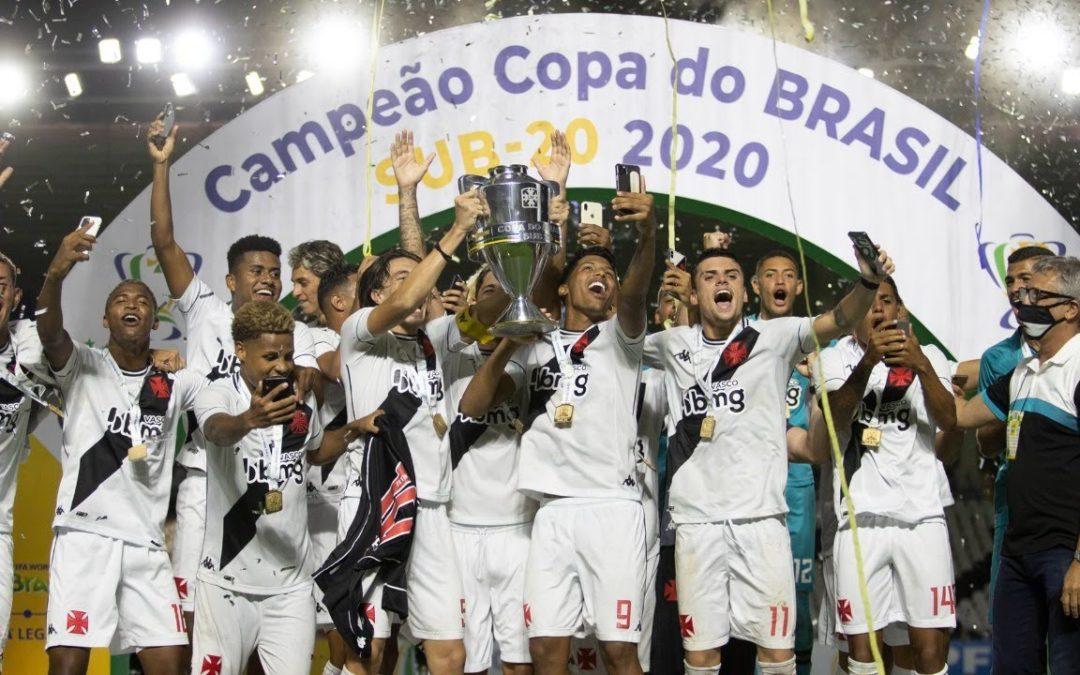 VASCO, CAMPEÃO DA COPA DO BRASIL SUB-20