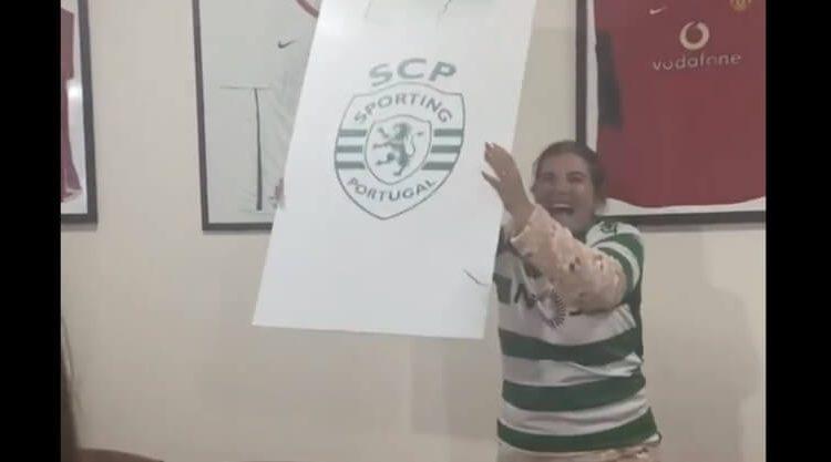 MÃE DE CRISTIANO RONALDO COMEMORA EMPATE