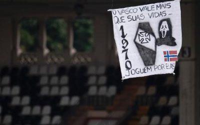 VASCO VENCE COM AMEAÇA DO DRONE DA MORTE