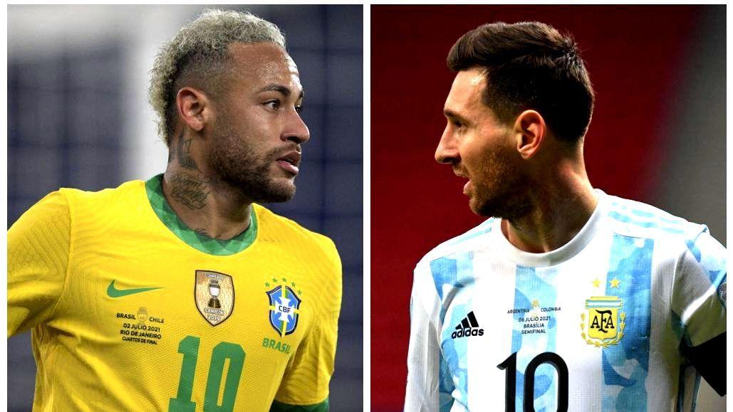 BRASIL E ARGENTINA DECIDEM COPA AMÉRICA