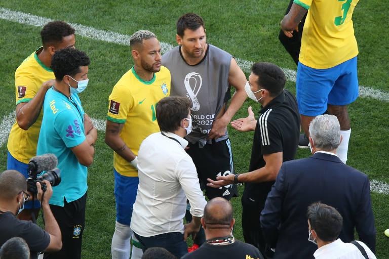 FIFA DECIDIRÁ SOBRE BRASIL x ARGENTINA